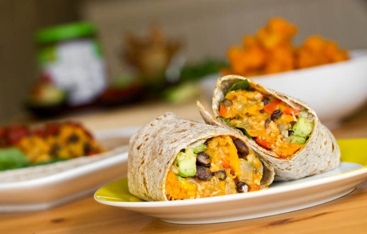 Black Bean and Butternut Squash Burritos...already tried and loved but ...