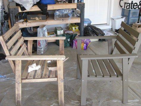 How to refinish Ikea patio furniture