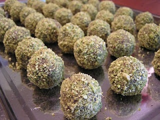 """we love dates and we love pistachios ~ combining them into a """"truffle ..."""