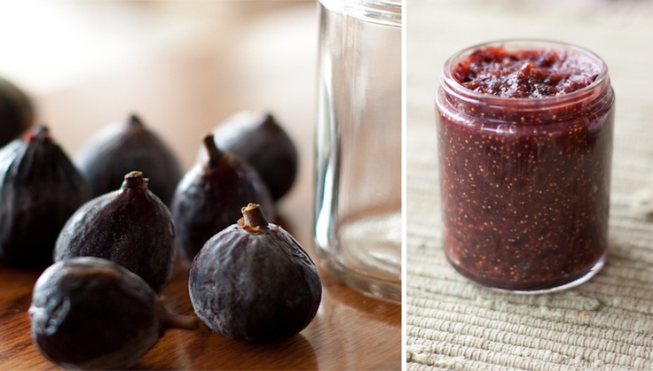 Fig Preserves: 1 Bunch of fresh figs - 1 T of red wine - 1/3 C brown ...