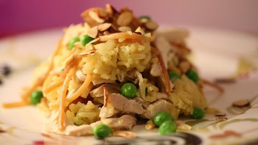 ... tonight? We have two recipes! First up is Pilaf with Saffron