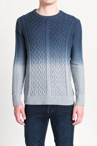 Pullover Dip Dye Sweater - Paul Rizk - Sweaters : JackThreads
