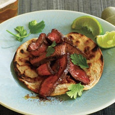 Flat-Iron Steak Tacos | Yummly - Feel free to share on Pinterest