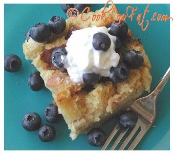Low Fat Lemon Bread Pudding...not missing anything. So decadent and ...