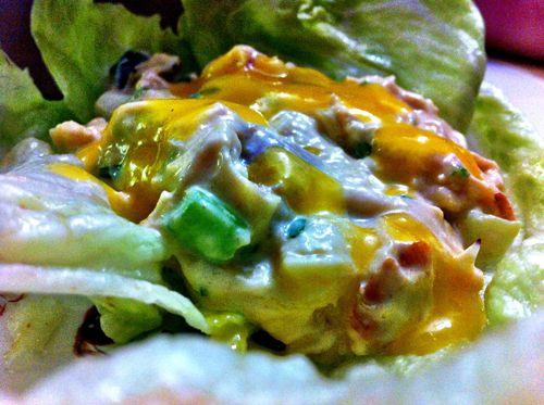 Mango Chicken Salad Lettuce Wraps   Recipe