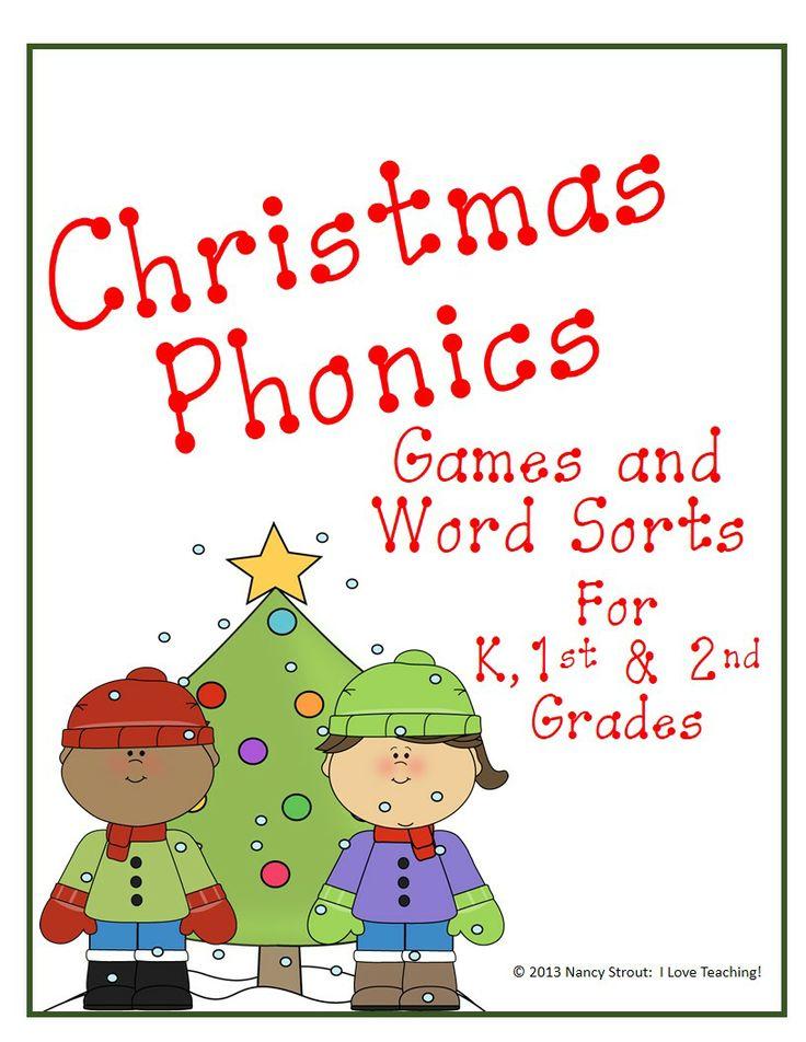 Christmas Phonics: Games and Word Sorts