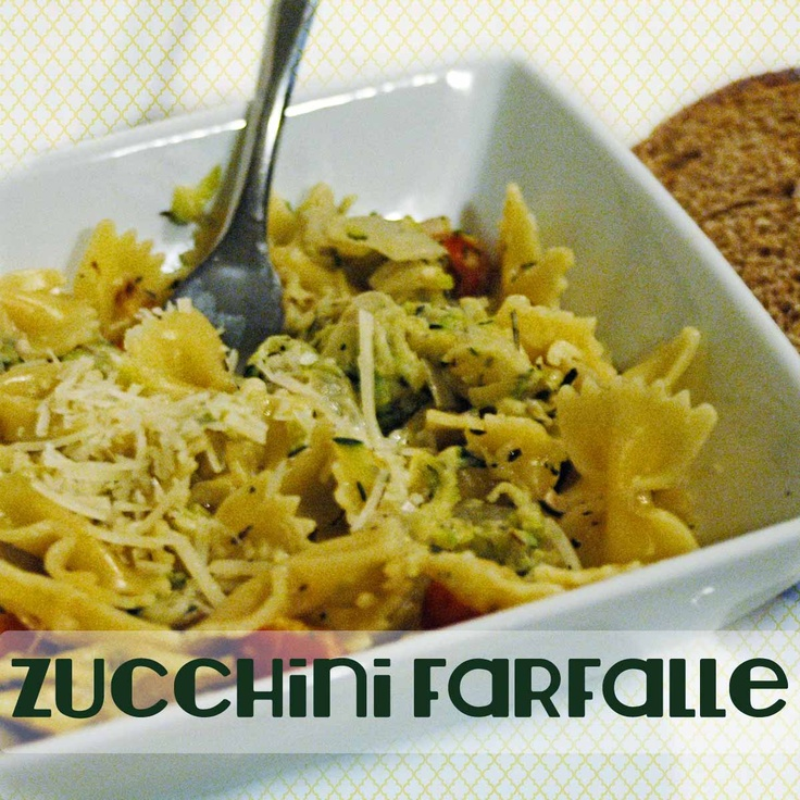 Farfalle With Zucchini Recipe — Dishmaps