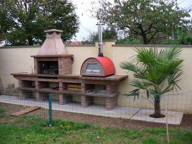 outdoor pizza oven & grill  PIZZAZZ !  Pinterest
