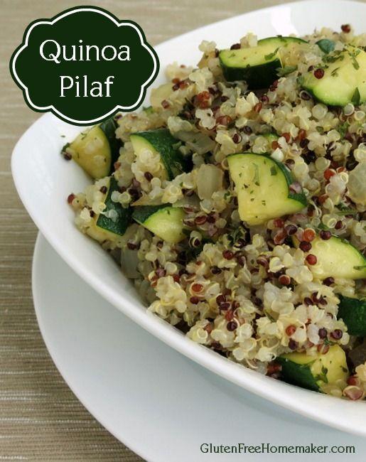 Quinoa Pilaf - The Gluten-Free Homemaker
