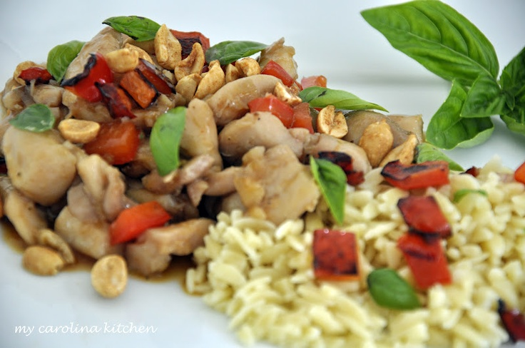 Spicy Basil Chicken | Recipes: Chicken | Pinterest