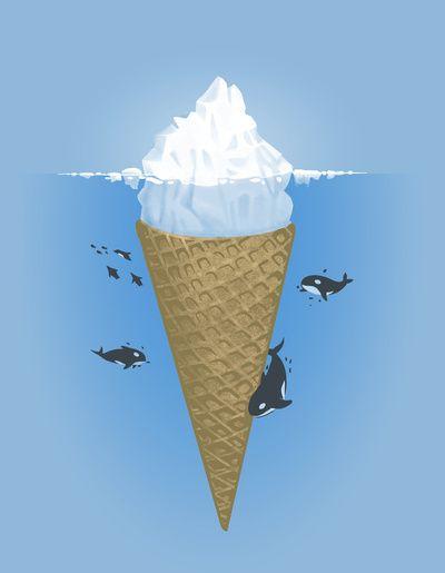 Ice cone