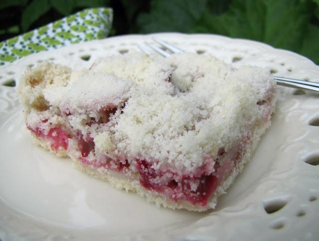 Rhubarb Crumb Squares | Desserts | Pinterest