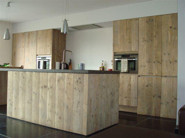 Keuken Steigerhout Look : Steigerhouten keuken Keuken Pinterest