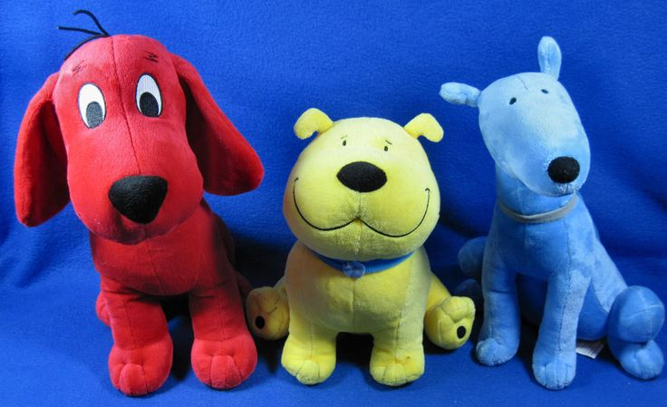 T Bone Clifford The Big Red Dog Toys