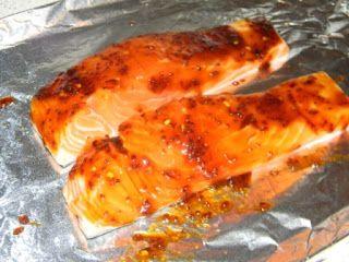 Honey-Soy Glazed Salmon With Bok Choy Recipe — Dishmaps