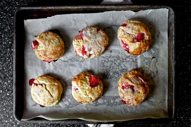 strawberry cream biscuits by smitten, http://smittenkitchen.com/2012 ...