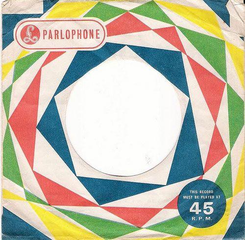 Parlophone record sleeve