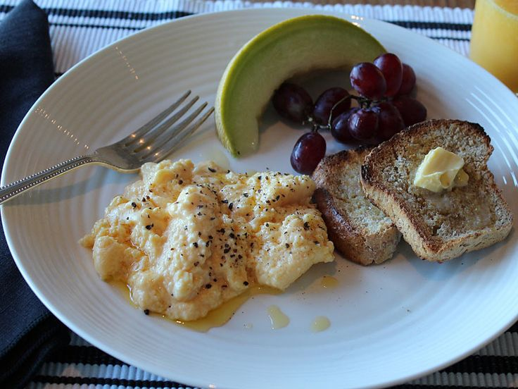 Blumenthal's Scrambled Eggs with Brown Butter These scrambled eggs ...
