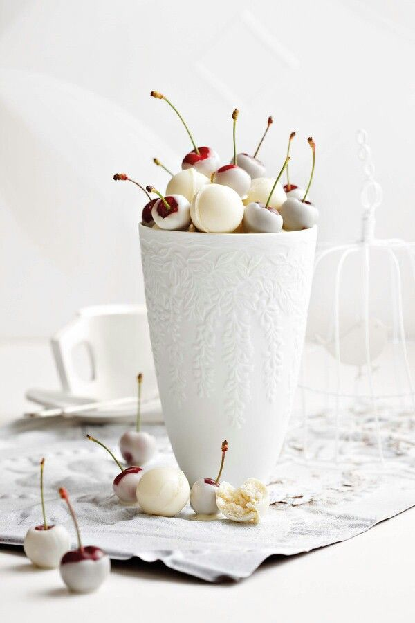 White Chocolate Covered Cherries | Things I Love | Pinterest
