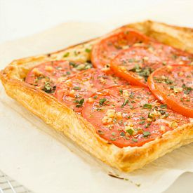 Tomato and Mozzarella Tart | Recipe