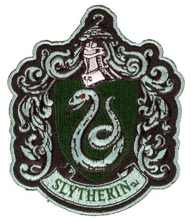 slytherin crest  Crests