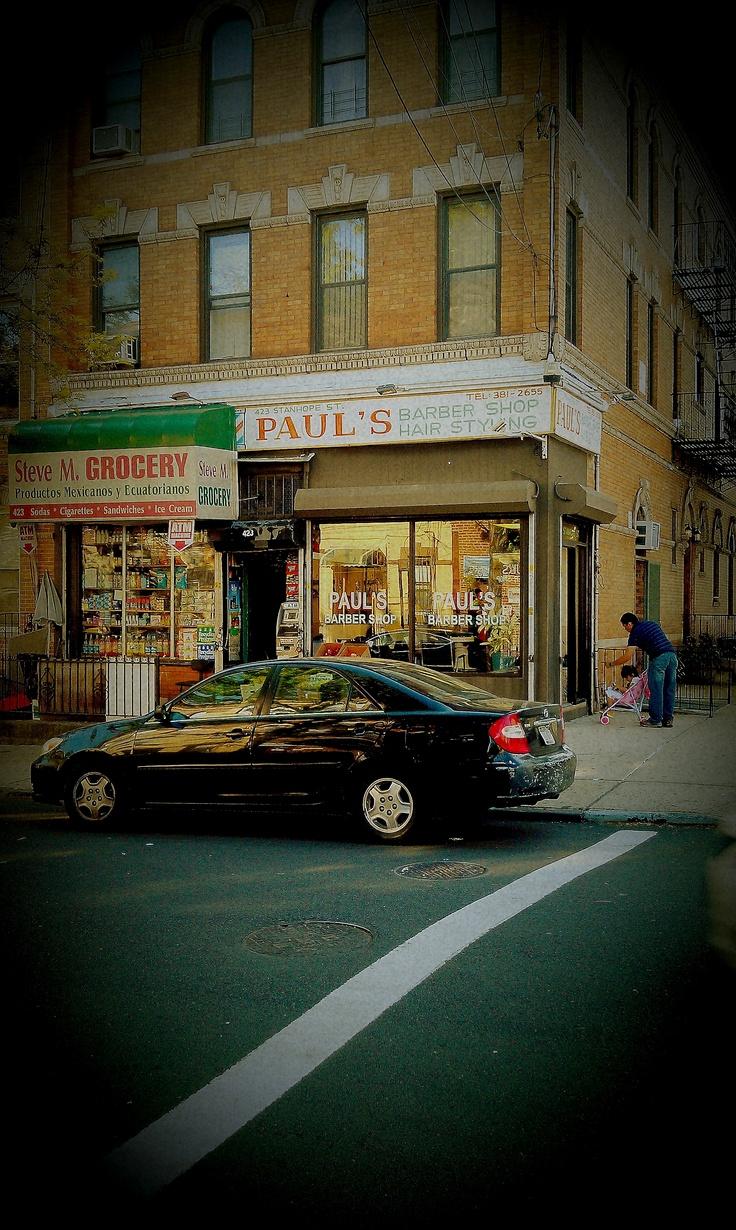 Barber Shop Brooklyn : Pauls Barber Shop ~ Bushwick, Brooklyn, New York, U.S.A