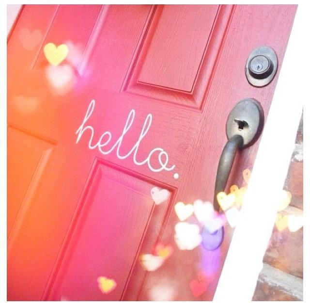 Adesivo porta de entrada