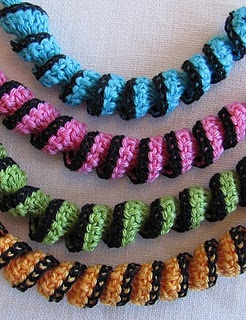 Free Crochet Scarves Necklace Pattern. Free Crochet ...