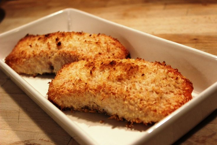 Coconut Crusted Salmon | Food and Drinks | Pinterest