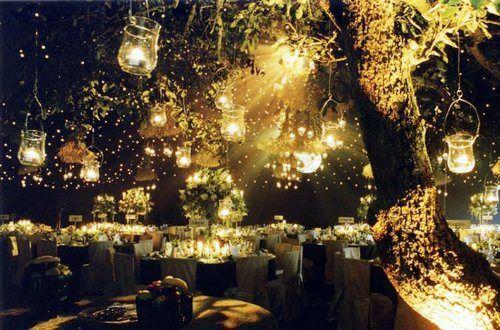 Lighting Ideas For Outdoor Wedding : Outdoor reception lighting  Wedding Ideas  Pinterest