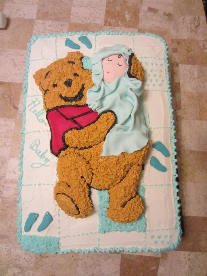 Pin by tamila on cakes pinterest - Wilton baby shower cake toppers ...