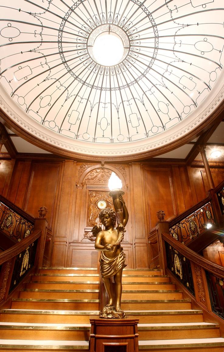Grand staircase | Titanic | Pinterest