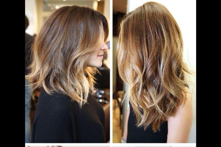 Light Brown Medium Length Hair Tumblr Brown blonde hair medium