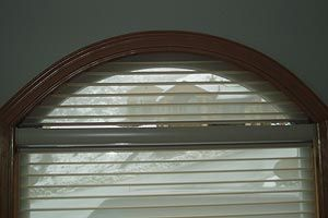 Honeycomb Blinds On Arched Window Design Irenas Home