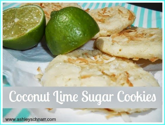 Coconut Lime Sugar Cookies | Cooking | Pinterest