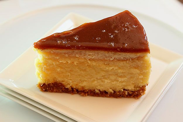 White Chocolate Marzcapone Cheesecake with Salted Chocolate/Caramel ...
