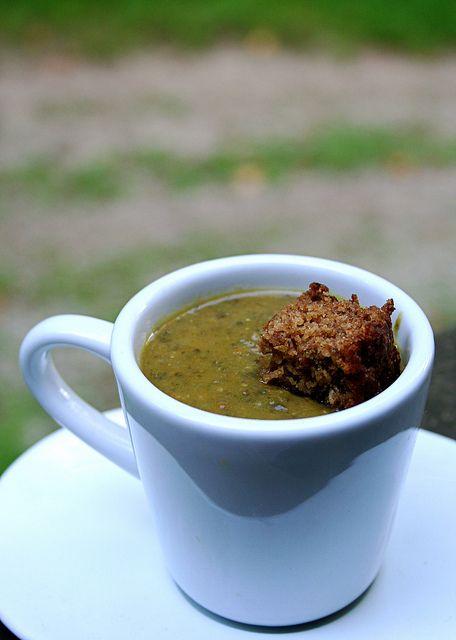 Roasted Eggplant & Lentil Soup | Soup | Pinterest