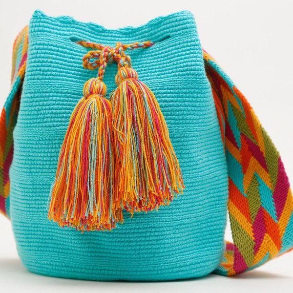 Wayuu Boho Bags with Crochet Patterns Ornament ...