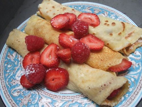 Basic Crepes | foodie | Pinterest