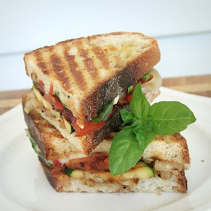 Grilled Vegetable Panini | Recipes | Pinterest