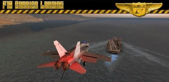 F18 Carrier Landing