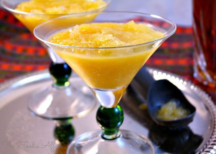 Bourbon Slush | The Foodie Affair