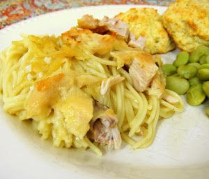 Slow Cooker Chicken Tetrazzini is classic dish updated with green ...