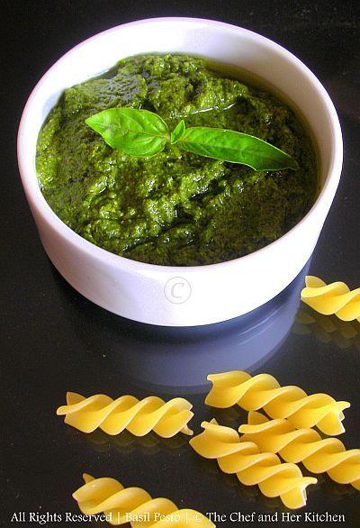 Fresh Basil Pesto | food love | Pinterest