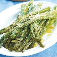 Roasted Asparagus with Parmigiano-Reggiano