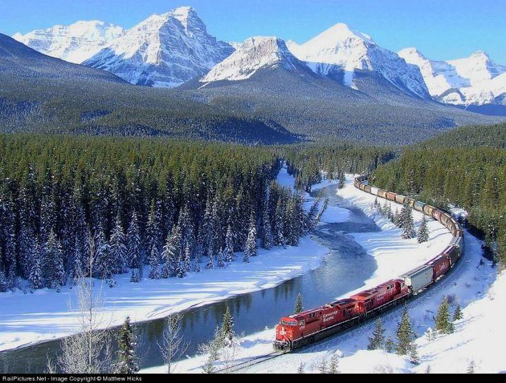 trips train travel bucket list canada