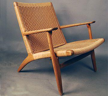 hans wenger ch25 chair. Black Bedroom Furniture Sets. Home Design Ideas