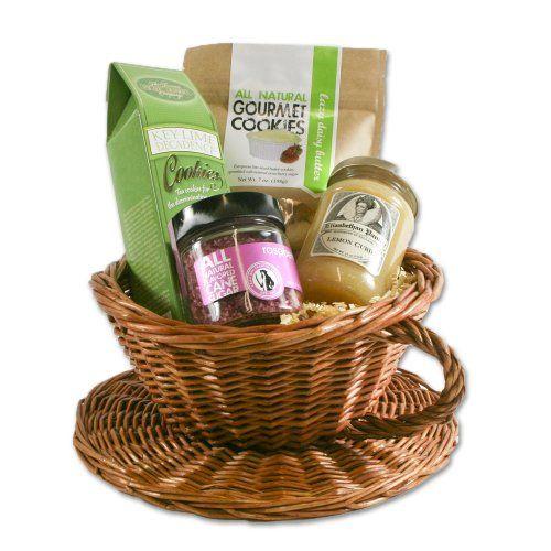 World Wide Gourmet Foods Tea Time Basket (bestseller)