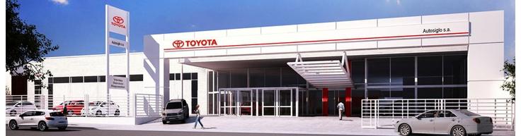 Sucursal La Plata Autosiglo SA, concesionario oficial Toyota - Grupo Simone
