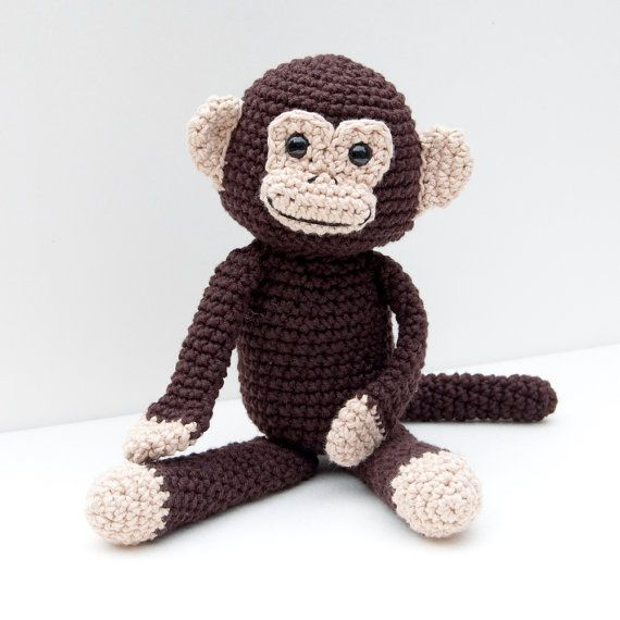 ... Download Crochet Pattern - Monkey Business Amigurumi Monkey D
